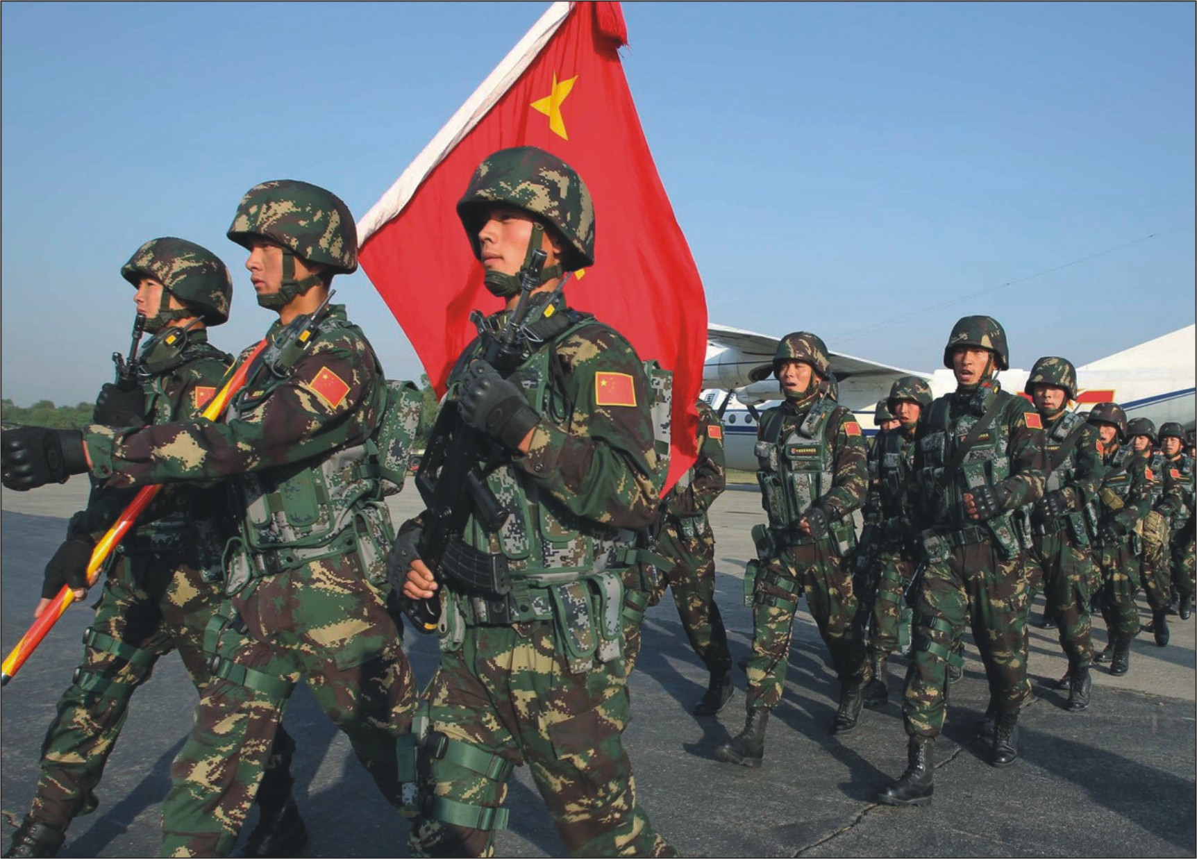 Image result for CHINA'S RAPIDLY GROWING THREAT TO WORLD SECURITY STRATEGIC INFRASTRUCTURE PLAN PRECEDES MILITARY OPTION